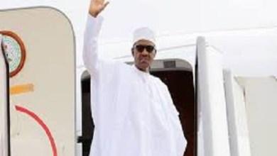 Buhari departs