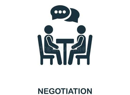 Clipart for negotiaion (Credit-Dreamstime.com)