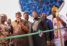 TSouth West Governors and the Ooni of Ife, at the launch of AMOTEKUN