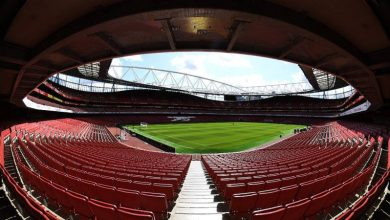 The Emirates Stadium may not see any football action this season.