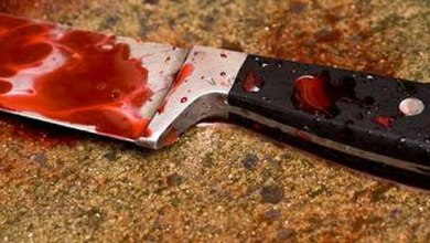 A blood-drenched knife (Photo credit-Channels Television)