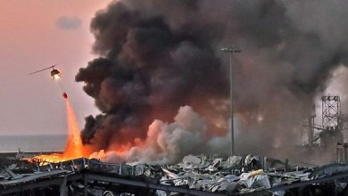 Lebanon explosion (Photo credit-BBC.COM)