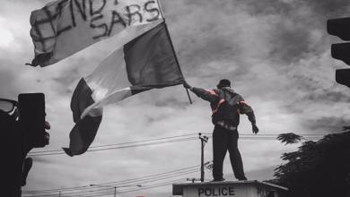 EndSARS protester