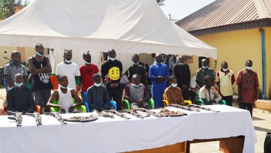 17 out of the 18 suspects paraded