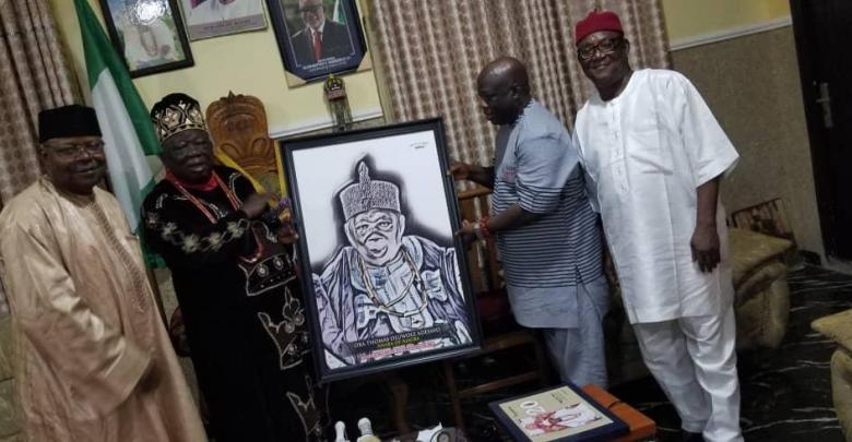 Ahaba and Otunba Olatunji