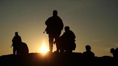 Silhouette of gunmen. (Photo: ANADOLUAGENCY)