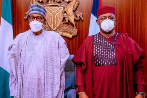 Buhari and Femi Fani-Kayode