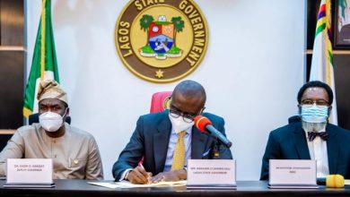 Gov. Babajide Sanwo-Olu signs VAT bill into law