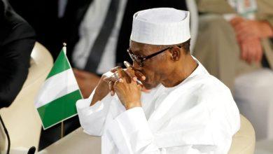 President Muhammadu Buhari...moody (Photo credit: The Guardian, Nigeria)