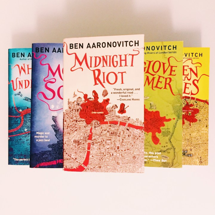 REVIEW: Rivers of London (Midnight Riot) by Ben Aaronovitch (DC Peter Grant #1)