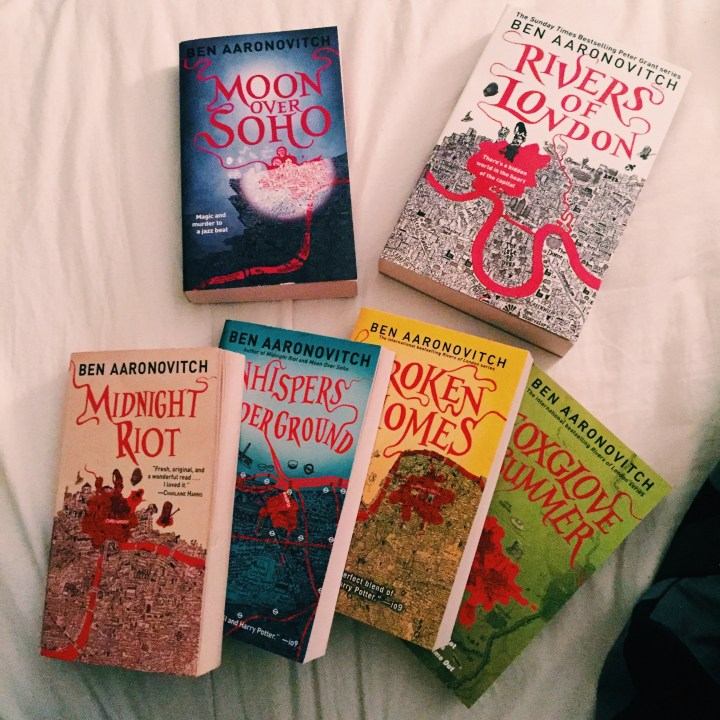 REVIEW: Moon Over Soho by Ben Aaronovitch (DC Peter Grant #2)