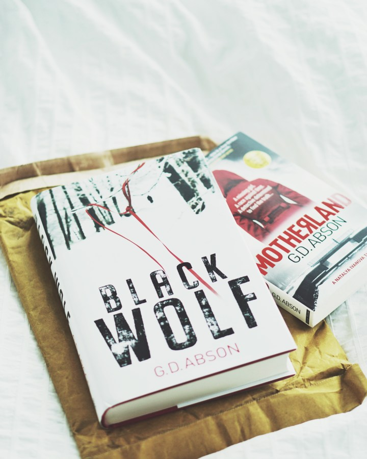 REVIEW: Black Wolf by GD Abson (Natalya Ivanova #2)