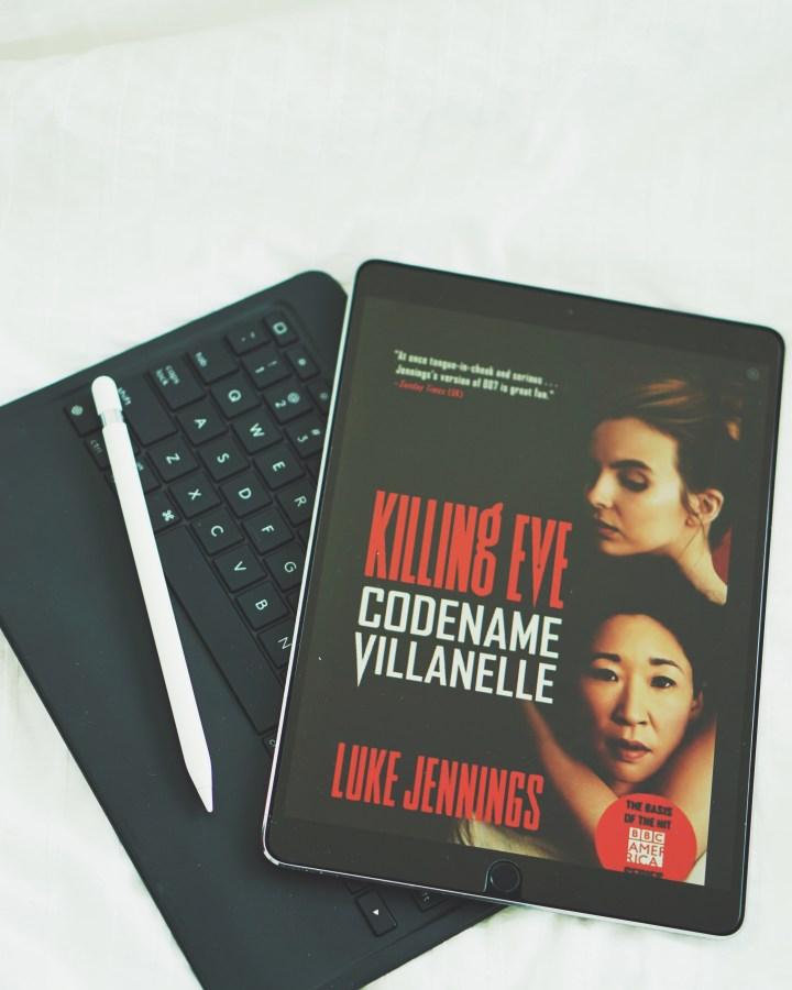 REVIEW: Killing Eve: Codename Villanelle by Luke Jennings (Killing Eve #1)
