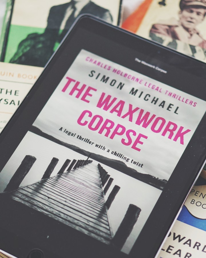 REVIEW: The Waxwork Corpse by Simon Michael (Charles Holborne #5)