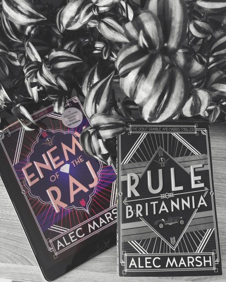 REVIEW: Enemy of the Raj by Alec Marsh (Drabble & Harris #2)