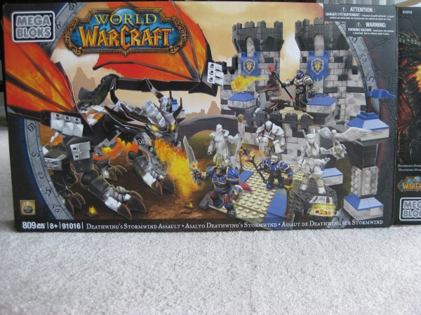 WoW Mega Bloks Review - Deathwing's Stormwind Assault (1/6)
