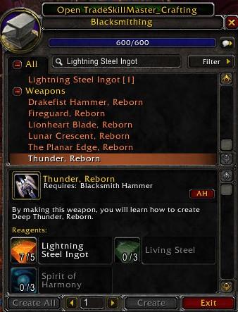 Blacksmithing, Reborn (4/6)