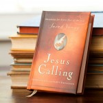 Jesus calling stack of books