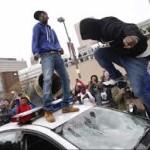 Baltimore Police Car top