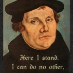 Luther Here I Stand