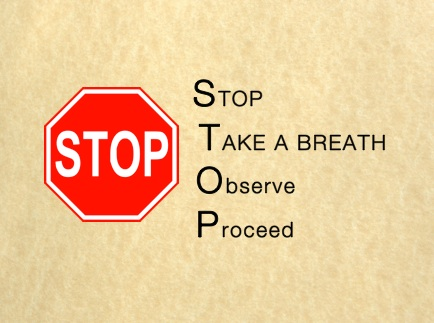 STOP EXERCISE