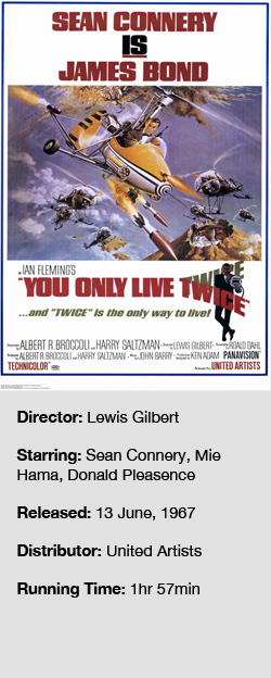 You Only Live Twice (1967) - The Critical Reel