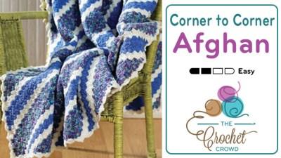 Corner to Corner Afghan + Video Tutorial