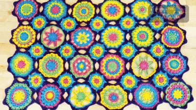 Crochet Stitch-cation Afghan