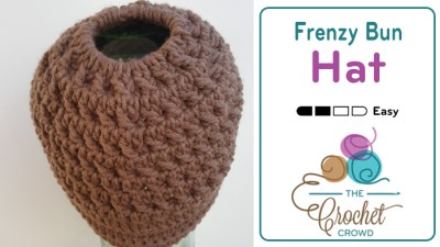 Crochet a Frenzy Bun Hat