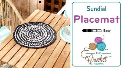 Sundial Crochet Placemat