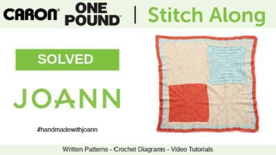 Crochet Spring Stitch Along with JOANN