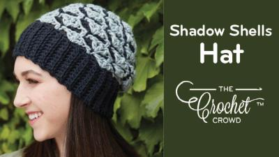Crochet Women's Shadow Shells Hat
