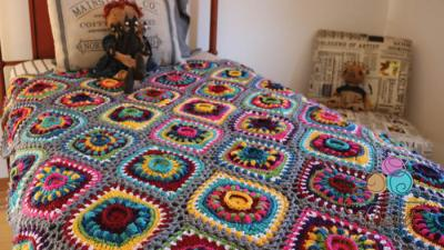 Crochet Boho Ornament Afghan Crochet Along + Tutorials