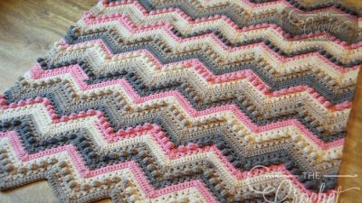 Crochet Hugs & Kisses Baby Blanket + Tutorial