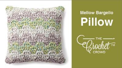 Crochet Mellow Bargello Pillow + Tutorial