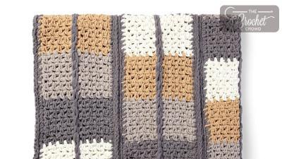 Crochet Keep In Check Blanket