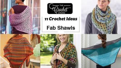 11 Crochet Shawls Ideas