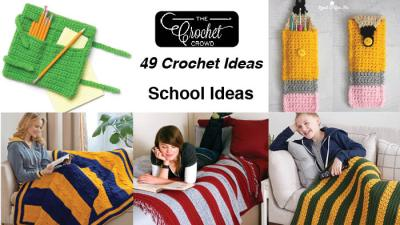 49 Crochet School Theme Patterns