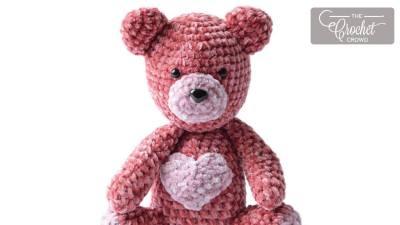 Crochet Valentine's Bear