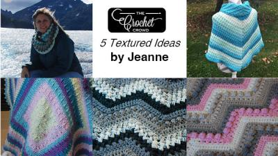 5 Textured Designs by Jeanne