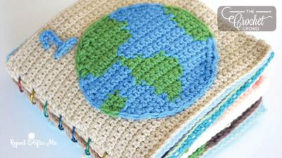 Crochet Earth Day Quiet Book