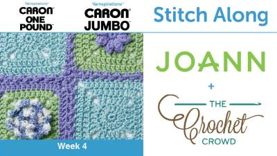 Stitch Along: Crochet Spring Garden Afghan + Tutorials
