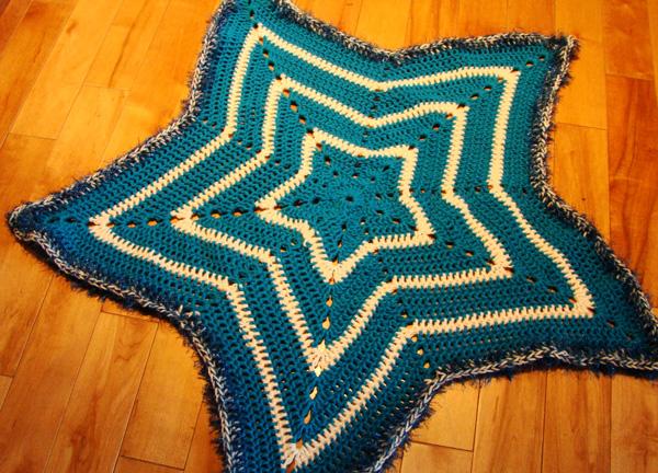 Image result for star crochet blanket