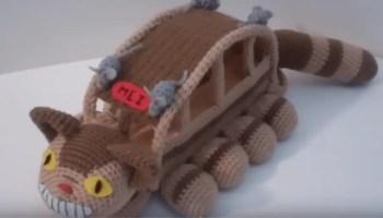 Crochet Along Totoro - YouTube | 200x350