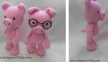 A Score of Free Crochet Elephant Patterns • Oombawka Design Crochet | 200x350