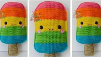 Amigurumi Food Crochet Pattern x3 !!! Chicken Burger, Soda, Cotton ... | 200x350
