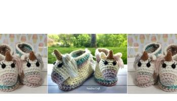 Sunday Ballet Slippers Free Crochet Pattern for Adults | 200x350