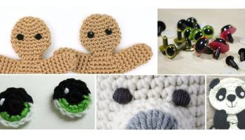 Crochet Eyes free crochet pattern – How to Crochet | 200x350