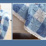 Gingham Crocheted Baby Blanket Free Crochet Pattern The Crochet Space