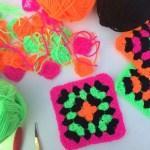 Neon Spin The Crochet Swirl